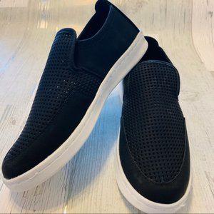 NEW WOMEN'S Perforated Slip-On Sneaker Black